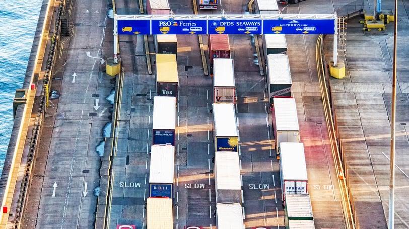 brexit-lorry-queue