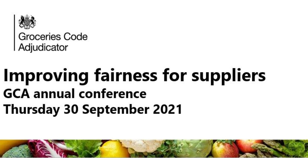 Groceries Code Adjudicator's first annual conference